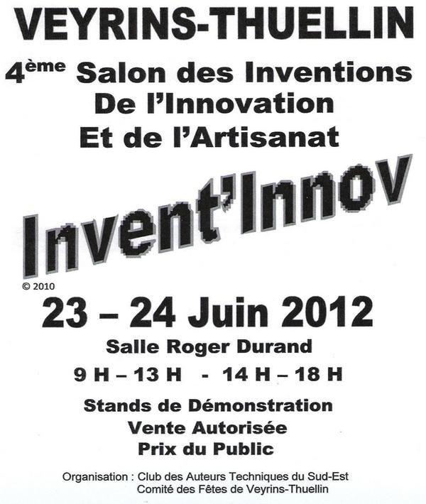 Salon 2012 inventions et innovations - Salon des inventions ...